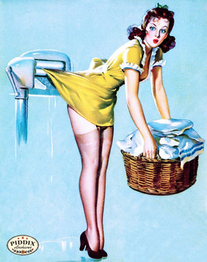 Pdxc11793A -- Pin-Ups Color Illustration