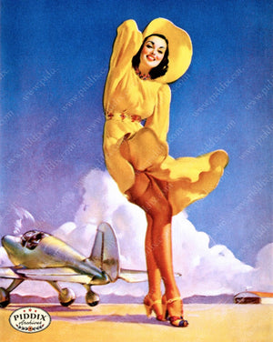Pdxc11795 -- Pin-Ups Color Illustration