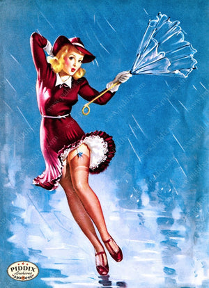 Pdxc11796A -- Pin-Ups Color Illustration