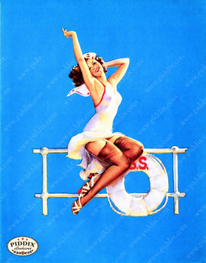 Pdxc11797A -- Pin-Ups Color Illustration