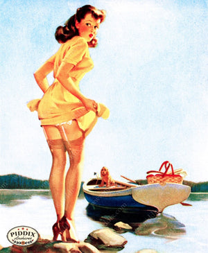 Pdxc11804 -- Pin-Ups Color Illustration