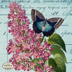 Pdxc12495B Flight & Flowers Original Collage