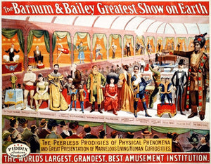 Pdxc12668 -- Circus Posters Poster