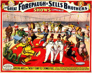 Pdxc12689 -- Circus Posters Poster