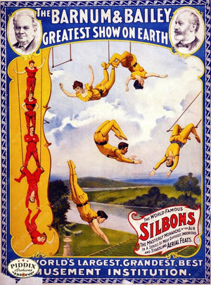 Pdxc12721 -- Circus Posters Poster