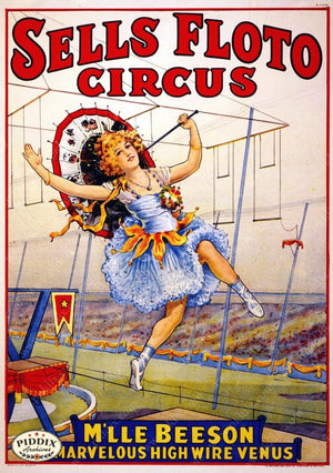 Pdxc12722 -- Circus Posters Poster