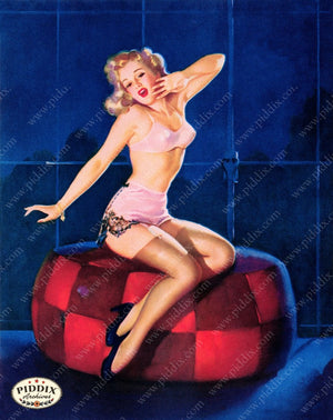 Pdxc13172A -- Pin-Ups Color Illustration