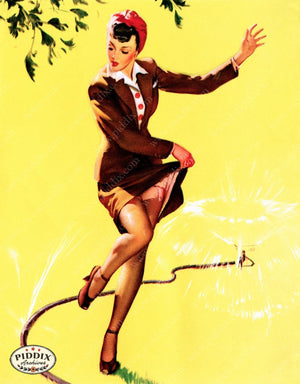 Pdxc13176 -- Pin-Ups Color Illustration
