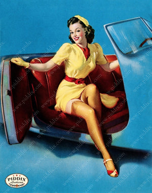 Pdxc13183 -- Pin-Ups Color Illustration