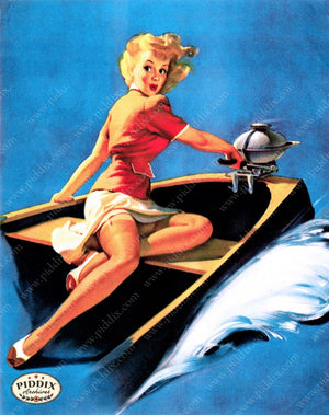 Pdxc13185 -- Pin-Ups Color Illustration