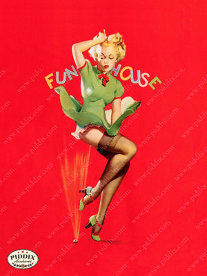 Pdxc13187 -- Pin-Ups Color Illustration