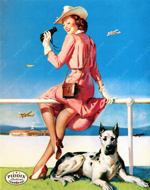 Pdxc13190 -- Pin-Ups Color Illustration