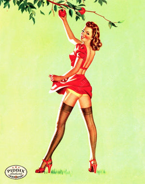 Pdxc13191 -- Pin-Ups Color Illustration