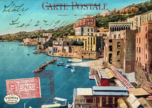 Pdxc13632A -- Travel Postcards Original Collage