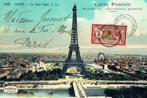 Pdxc13677A -- Travel Postcards Original Collage