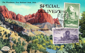 Pdxc13834A -- Travel Postcards Original Collage