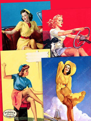 Pdxc14195 -- Pin-Ups Color Illustration