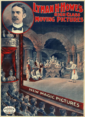 Pdxc14298 -- Vintage Movie And Theatre Posters Poster