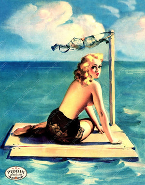 Pdxc14377 -- Pin-Ups Color Illustration
