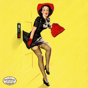 Pdxc14379 -- Pin-Ups Color Illustration