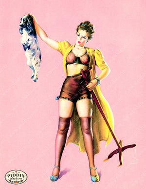 Pdxc14380 -- Pin-Ups Color Illustration