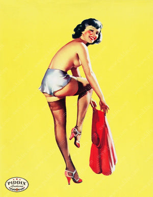Pdxc14383 -- Pin-Ups Color Illustration