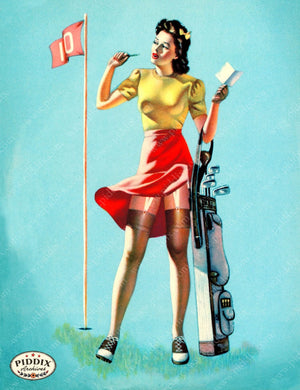 Pdxc14384 -- Pin-Ups Color Illustration