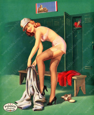 Pdxc14388 -- Pin-Ups Color Illustration