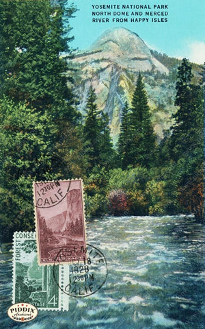 Pdxc14825 -- Travel Postcards Original Collage