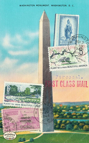 Pdxc14839 -- Travel Postcards Original Collage