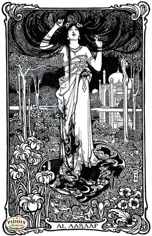 Pdxc15573 -- Black & White Fairy Tales Black & White Engraving