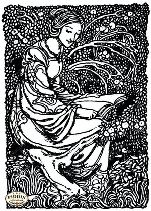 Pdxc15575 -- Black & White Fairy Tales Black & White Engraving
