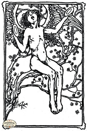 Pdxc15582 -- Black & White Fairy Tales Black & White Engraving