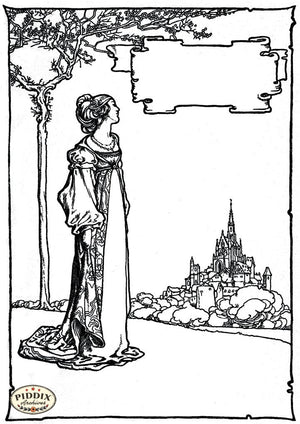 Pdxc15591 -- Black & White Fairy Tales Black & White Engraving