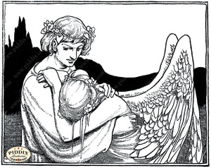 Pdxc15597 -- Black & White Fairy Tales Black & White Engraving