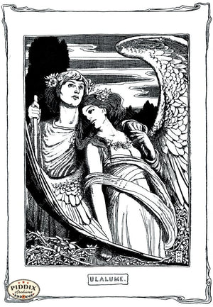 Pdxc15598 -- Black & White Fairy Tales Black & White Engraving