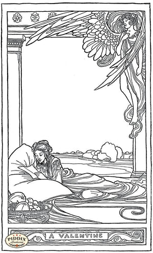 Pdxc15603 -- Black & White Fairy Tales Black & White Engraving