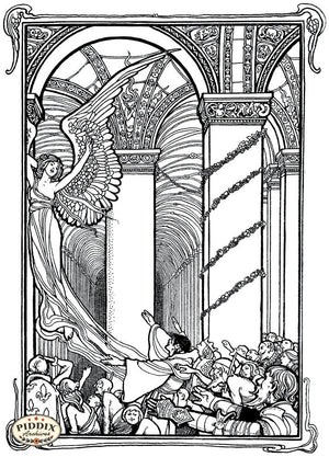 Pdxc15615 -- Black & White Fairy Tales Black & White Engraving