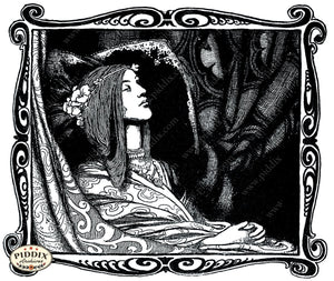 Pdxc15618 -- Black & White Fairy Tales Black & White Engraving