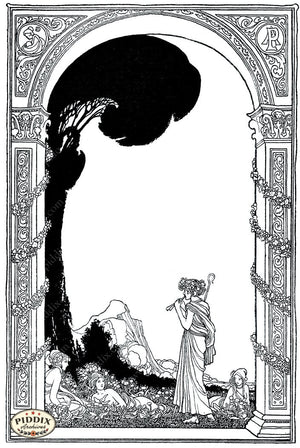 Pdxc15684-- Black & White Fairy Tales Black & White Engraving