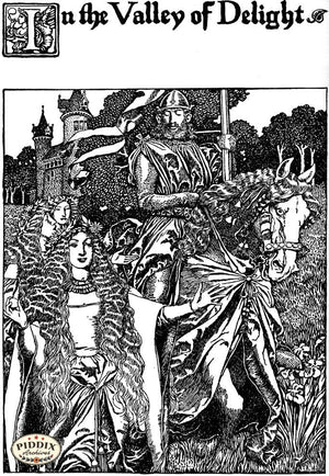 PDXC15817-- Black & White Fairy Tales Black & White Engraving
