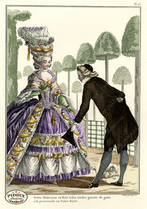 Pdxc1582 -- French Fashion Color Illustration