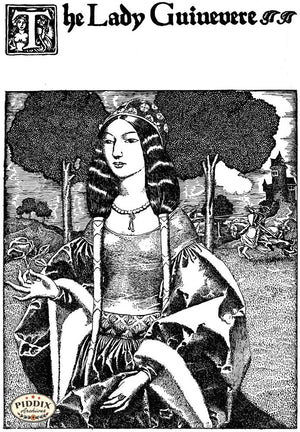 PDXC15824-- Black & White Fairy Tales Black & White Engraving
