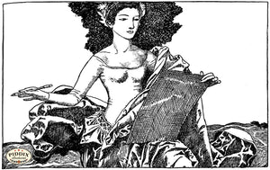 PDXC15836-- Black & White Fairy Tales Black & White Engraving