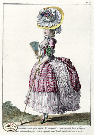 Pdxc1596 -- French Fashion Color Illustration