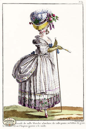 Pdxc1600 -- French Fashion Color Illustration