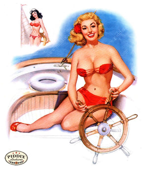 Pdxc16039 -- Pin-Ups Color Illustration