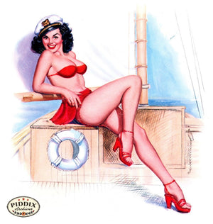 Pdxc16041 -- Pin-Ups Color Illustration