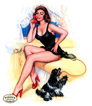 Pdxc16043 -- Pin-Ups Color Illustration