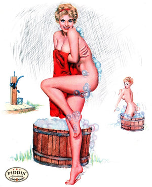 Pdxc16047 -- Pin-Ups Color Illustration